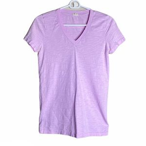 🦉J.Crew T-Shirt V-Neck Short Sleeve Cotton XS